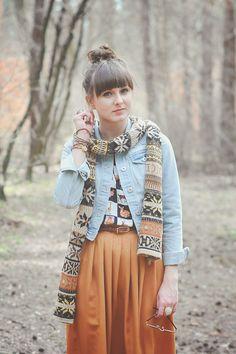 Maddinka's blog Skirt@La Redoute