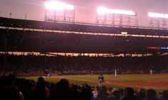 Wrigley Field, Atlanta Braves vs. Chicago Cubs, 5/7/12, top of the third