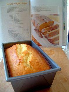 A Feast for the Eyes: Guilt-Less Lemon Yogurt Cake, Ina Garten - Close my eyes moist