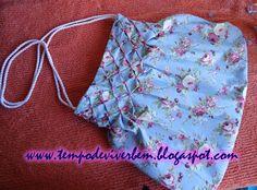 Smocked purse tutorial. Use google translate for English.