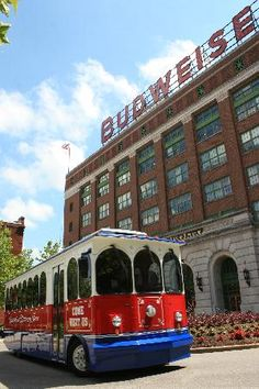 St. Louis - Anheuser Busch Brewery Tour. Free brews at the end and great place to buy tourist souvenirs.