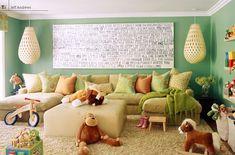 Big comfy play room