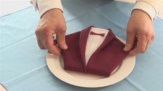 wedding tables, folding napkins, dress shirts, tuxedo, dinner jacket, dinners, blog planning, jackets, napkin folding
