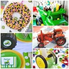 Tractor party ideas