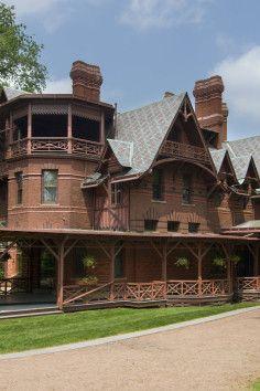National Historic Landmark, Mark Twain House Hartford, CT