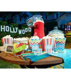 summer parties, popcorn parti, night parti, parti idea, craft store