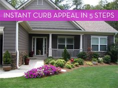 5 Easy Ways To Improve Your Homes Curb Appeal » Curbly | DIY Design Community