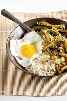 #Vegetable Bibimbap #Bimbimbap