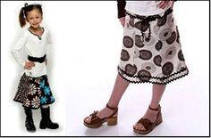 Tween & Teen  Flared Skirt- Sizes 6-14 yrs