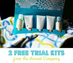 Free Trial Offer of Honest Company Products!