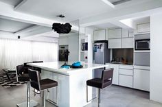 White kitchen from Singapore Home & Decor