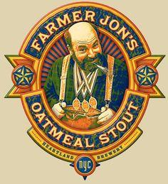Farmer Jon's Oatmeal Stout - delicious!