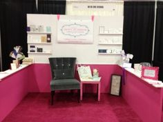 Oh So Chic Designs Wedding Expo Booth