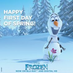 It's the first day of Spring and you know what that means: Only one more season left until SUMMER!