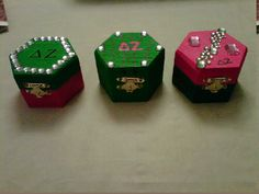 Badge boxes