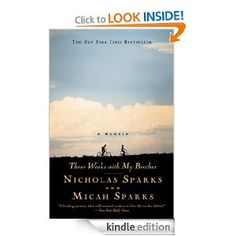 Three Weeks with My Brother - non fiction by Nicholas Sparks