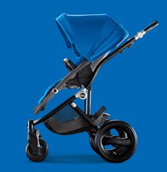 Project Nursery - Britax Sky Blue Affinity Stroller If only I were having a boy this would be his stroller #britaxstyle pin party