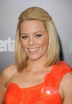 Elizabeth Banks Half Up Half Down