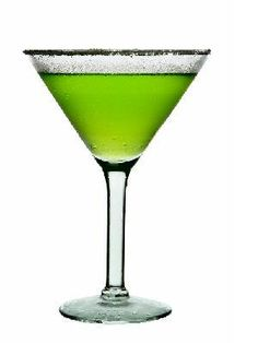 Drink of the Week: Monster Martini    Ingredients:  1 part UV Apple  Splash of sour mix