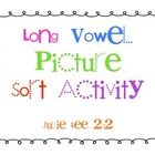 Your students will practice their long vowel sounds with this quick and easy cut and paste sorting activity.Julie Lee...