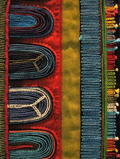 Sally Scott - Towards Infinity - South Africa - Blissfully Imperfect: World Quilt Show Florida - Drawn to Details