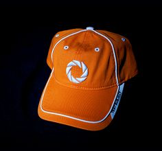 APERTURE TEST SUBJECT HAT, ORANGE
