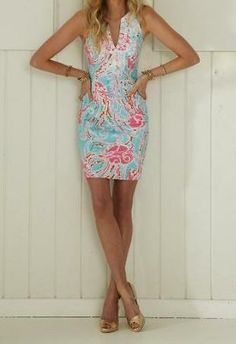 Lilly Pulitzer Gabby Shift Dress in Jellies Be Jammin