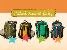 Festivaling is an art form. It takes preparation, organization, determination and many other -ations. Luckily for you, the best festival minds this side of the Mississippi have compiled a list of everything you need to festival in comfort and – more importantly – style. This is the Festival International Survival Pack, and we're giving them away.