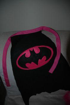 Custom Listing Reserved for Lisa Wood: Adult Size Batgirl Cape. $15.00, via Etsy.