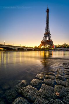 Sunrise in #Paris