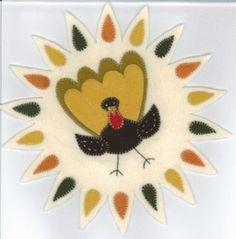 Thanksgiving Candle Mat