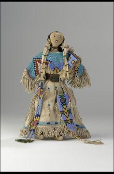 Lakota doll- 1890 native american art, nativ american, native americans, american indian, plain indian, craft nativ, plain nativ, american nativ