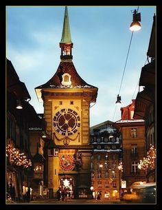 Christmas time in Bern, Switzerland