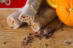 Chocolate orange granola bars