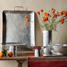 Hammered Entertaining Serveware
