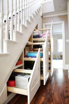 Ideas para aprovechar el hueco de la escalera