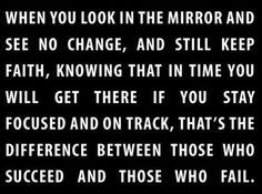 Stay focused and on track!