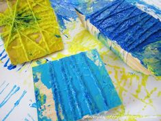 Art with Children: Wood Block Printing