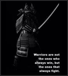 Warriors are the ones that always fight.