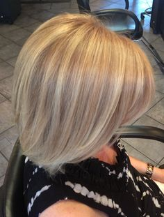Goldwell Trifecta color and highlights. The most dimension, shine and never turns brassy! @Elisstyle.com
