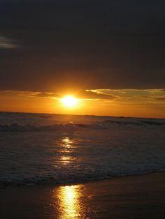 Sunset in Nicaragua Beach