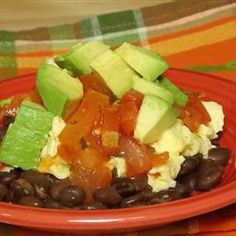 """Black Bean Breakfast Bowl 