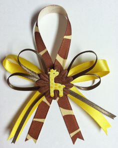 Giraffe Baby Shower Favors by littlecreationz on Etsy, $1.25