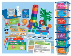 Lakeshore Theme Boxes - Set 1 #LakeshoreDreamClassroom