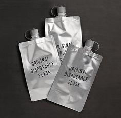 The Original Disposable Flasks (Set of 3)
