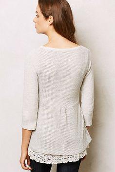 Back-Hattie Sweatshirt- Sweater refashion inspiration