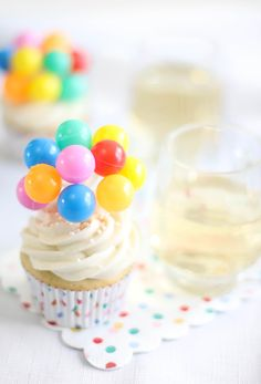 Sprinkle Bakes: Ginger Ale Cupcakes