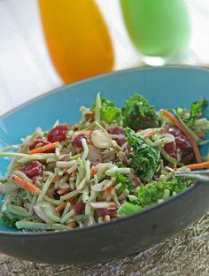 Kale Broccoli Slaw