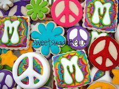 birthday parti, birthday cooki, tie dye, dye cooki, ties, cookies, blog, parti idea, dyes