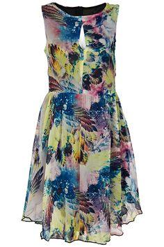 Hollow-out  dress #Romwe